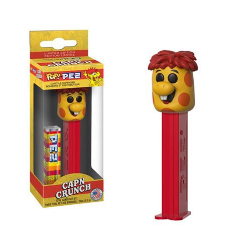Quaker Oats Crunchberry Monster Pop! Pez