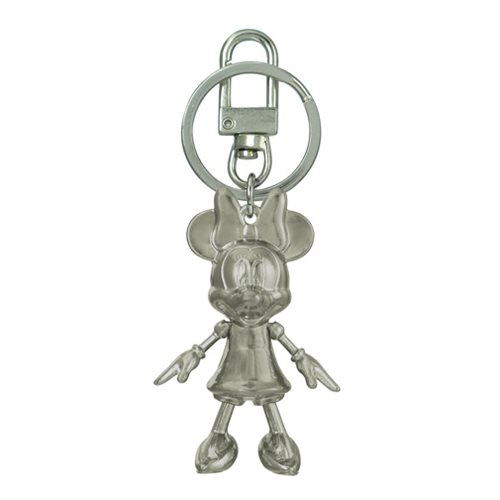 Minnie Mouse June Pearl Pewter Dangle Key Chain
