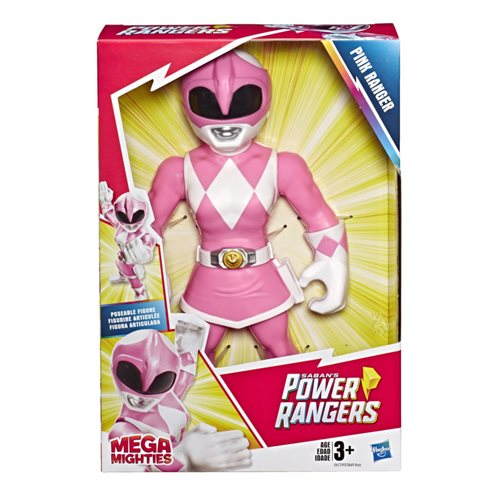 Power Rangers Mega Mighties Pink Ranger 12-Inch Action Figure