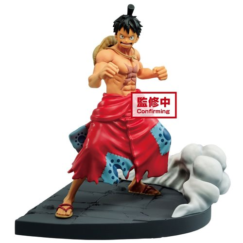 One Piece Log File Selection Monkey D. Luffy Worst Generation Vol. 1 Statue