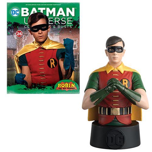Batman Universe Robin 1966 Bust with Collector Magazine #26