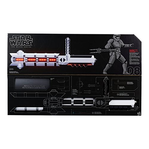Star Wars The Black Series Force FX Z6 Riot Control Baton