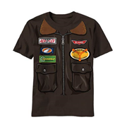 Planes Flyer Jacket Juvy Costume T-Shirt