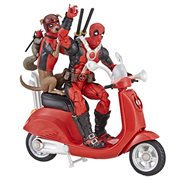 Marvel Legends Ultimate Deadpool Corps 6-Inch Action Figures with Scooter