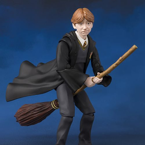 Harry Potter and the Sorcerer's Stone Ron Weasley SH Figuarts Action Figure