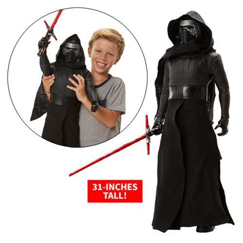 Star Wars: The Force Awakens Kylo Ren 31-Inch Action Figure