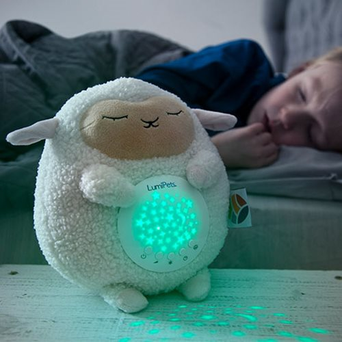 LumiPets Lamb Plush Sound Soother