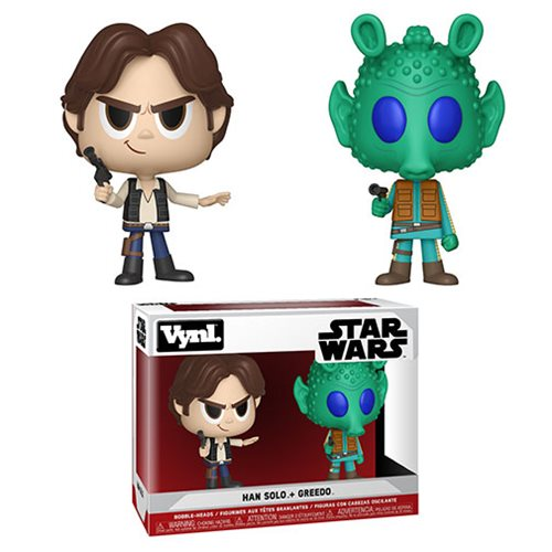 Star Wars Han Solo and Greedo Vynl. Figure 2-Pack