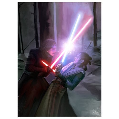 Star Wars: The Force Awakens Where There Is Darkness, There Is Light by Brian Rood Canvas Giclee Art Print