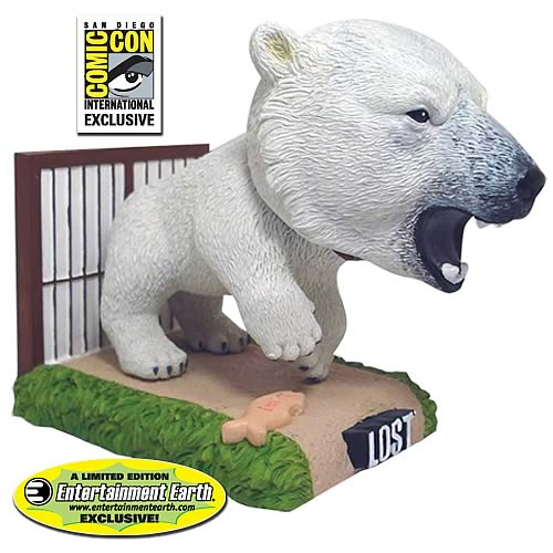Lost Polar Bear Bobble Head - SDCC Exclusive