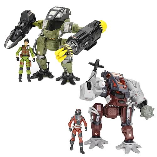 G.I. Joe Pursuit of Cobra Mech Suit Vehicles Wave 1