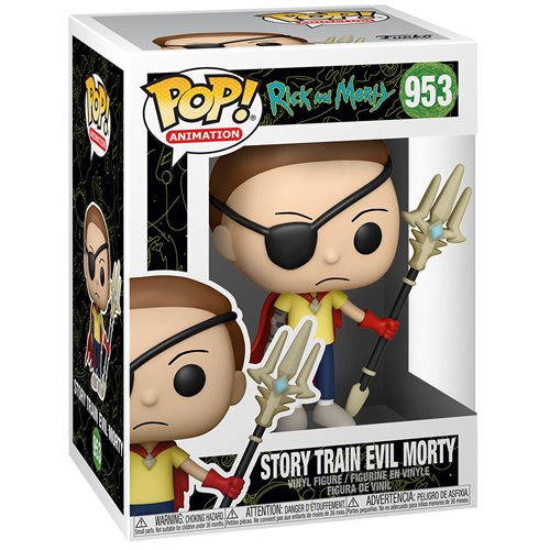 Rick and Morty Evil Morty Pop! Vinyl Figure