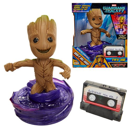Guardians of the Galaxy Vol. 2 Rock 'n' Roll Groot, Not Mint