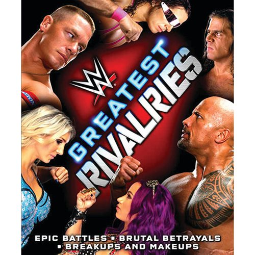 WWE Greatest Rivalries Hardcover Book