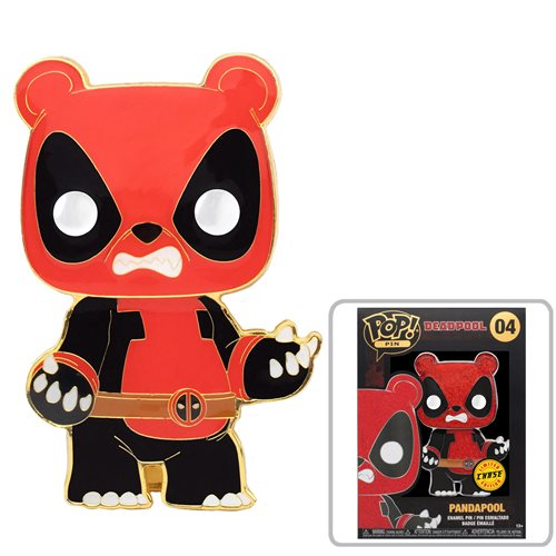 Deadpool Panda Deadpool Large Enamel Pop! Pin