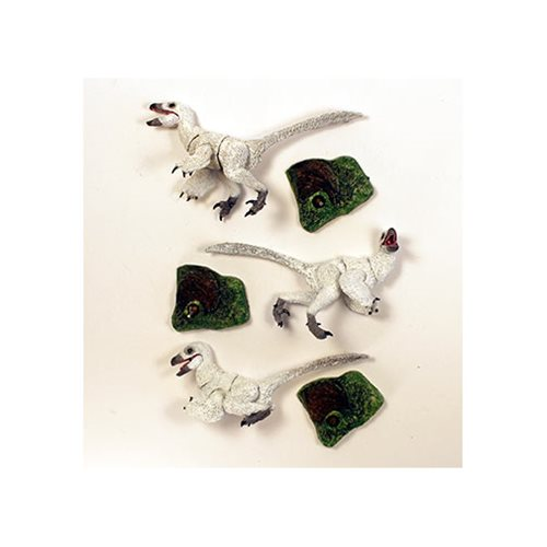 Beasts of Mesozoic Raptor Series White Nestlings 1:6 Figure Set