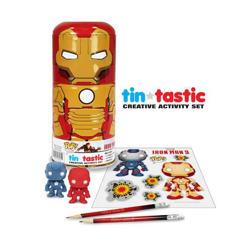 Iron Man 3 Movie Mark 42 Tin-Tastic Pencil Set with Tin