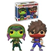 Marvel Vs Capcom Gamora VS Strider Pop! Vinyl 2-Pack