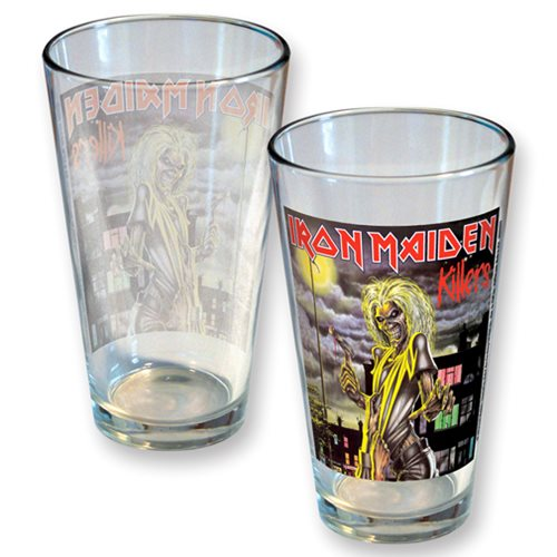 Iron Maiden Killers Classic Cover Pint Glass