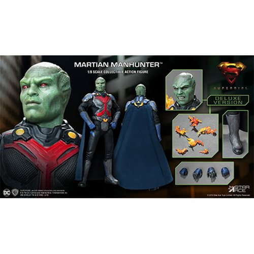 Supergirl TV Martian Manhunter Deluxe Version 1:8 Scale Figure