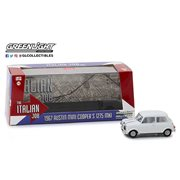 The Italian Job (1969) - 1967 Austin Mini Cooper S 1275 MKI White 1:43 Scale Die-Cast Metal Vehicle