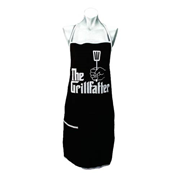 The Godfather Grillfather Cook's Apron with Pocket