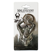 Maleficent Head Pewter Key Chain
