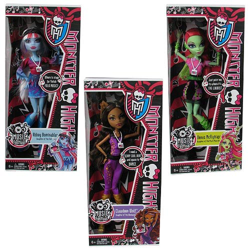 Monster High Music Festival Doll Wave 1 Case