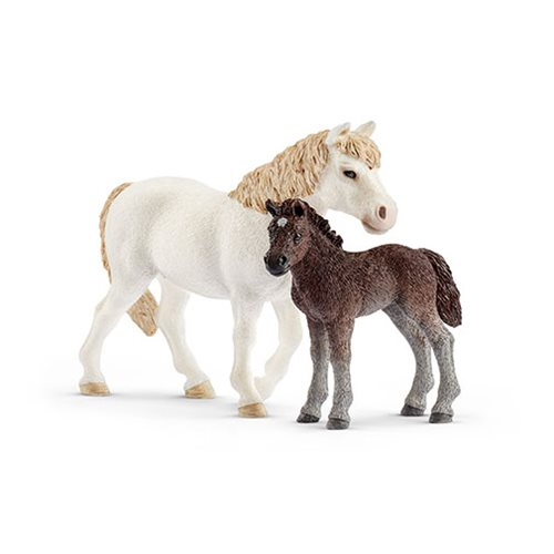 Farm World Pony Mare and Foal Set