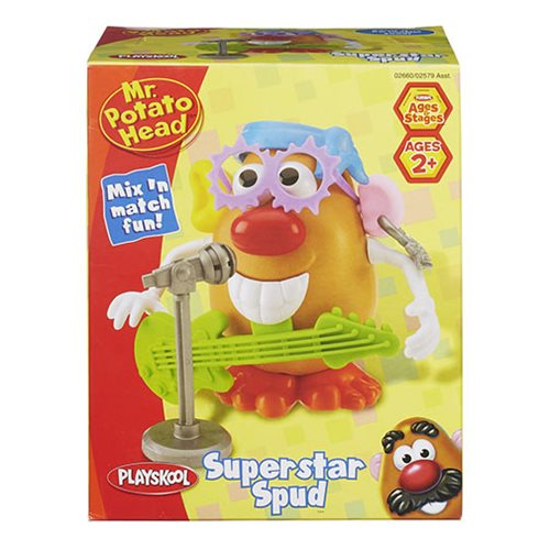 Mr. Potato Head Themed Parts Packs Wave 1 Case
