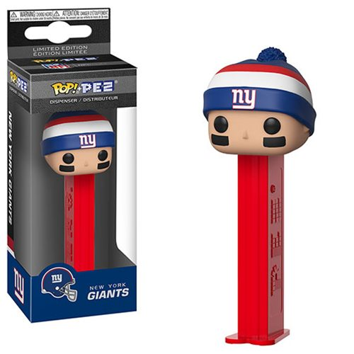 NFL Giants Beanie Pop! Pez