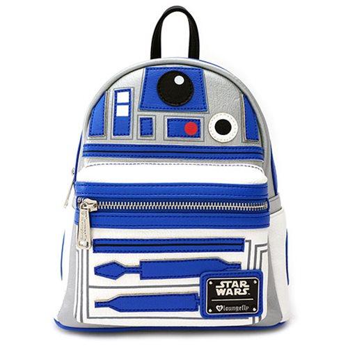 fba01011a52 Star Wars R2-D2 Applique Mini-Backpack - Entertainment Earth