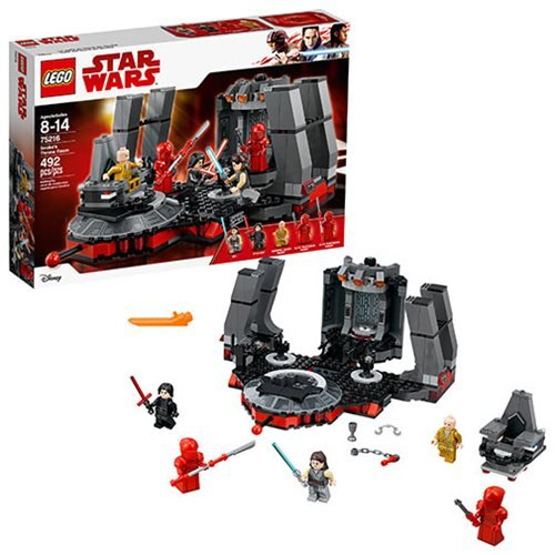 LEGO Star Wars 75216 Snoke's Throne Room