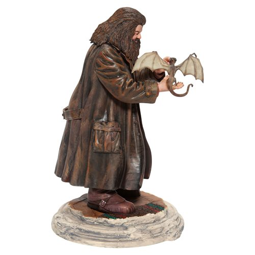 Wizarding World of Harry Potter Hagrid and Norberta Statue