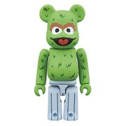 Sesame Street Oscar the Grouch 100% Bearbrick Figure