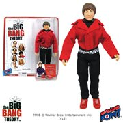 The Big Bang Theory Howard Red Shirt with Batman Belt Buckle 8-Inch Action Figure, Not Mint