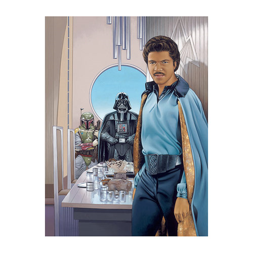 Star Wars Join Us for Dinner by Dave Nestler Gallery Wrapped Canvas Giclee Art Print