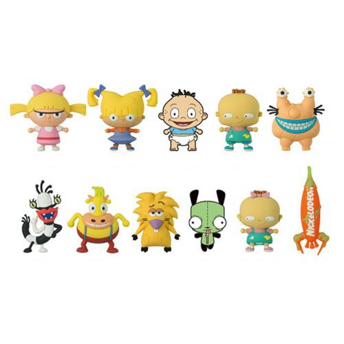 Nickelodeon Series 2 3D Figural Key Chain Display Case