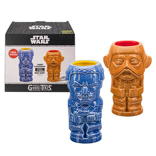 Star Wars Lando and Nien Nunb Geeki Tikis Mug 2-Pack
