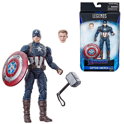 Marvel Legends Captain America Worthy 6-Inch Action Figure