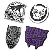 Black Panther 4-Pack Enamel Pin Set