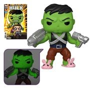 Marvel Heroes Professor Hulk 6-Inch Pop! Vinyl Figure and The Immortal Hulk #39 Variant Comic - Previews Exclusive