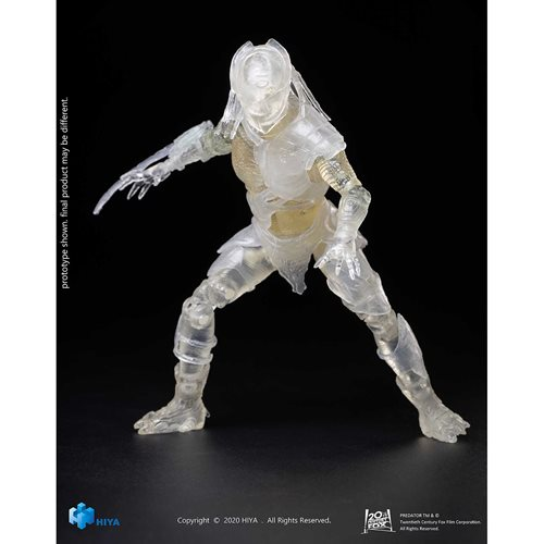 Predators Invisible Falconer Predator 1:18 Scale Action Figure - Previews Exclusive