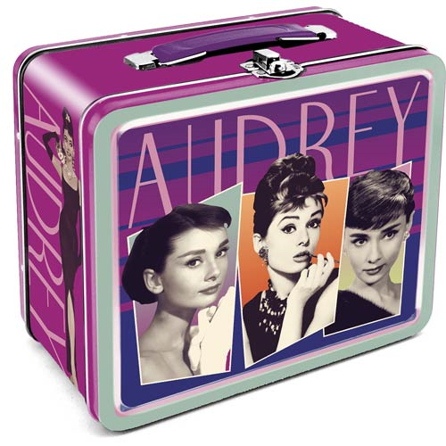 Audrey Hepburn Large Fun Box Tin Tote