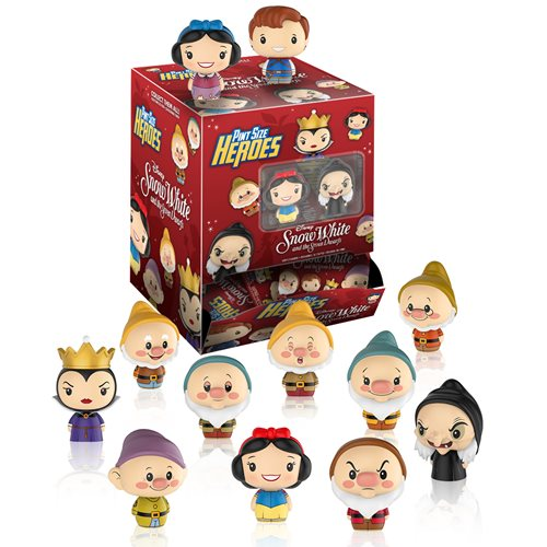 Snow White Pint Size Heroes Mini-Figure Random 6-Pack