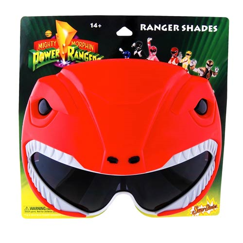 Power Rangers Red Ranger Sun-Staches