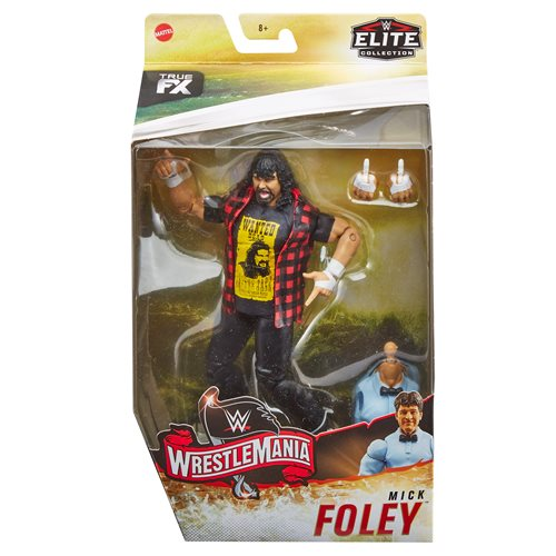 WWE WrestleMania Elite Mick Foley Action Figure