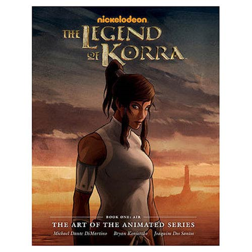 The Legend of Korra Art of the Animated Series Hardcover Book