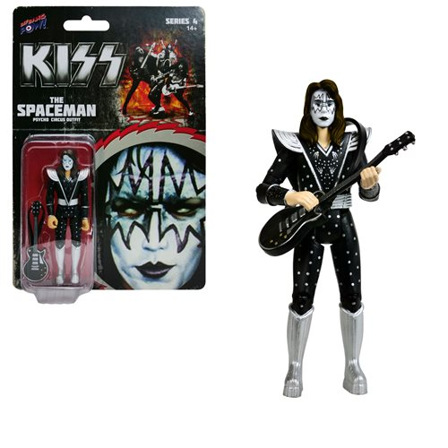 KISS Psycho Circus The Spaceman 3 3/4-Inch Action Figure Series 4
