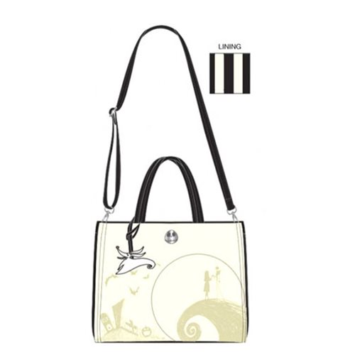 Nightmare Before Christmas Debossed Satchel Purse